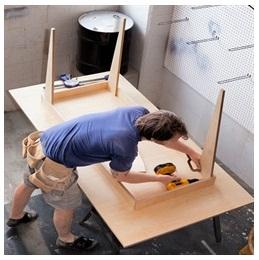 Сборка столов по низким ценам в Волгограде от специалистов