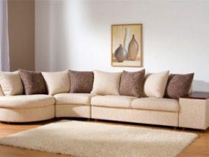 Перетяжка углового дивана на дому в Волгограде